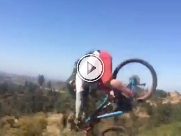 A 360 view of a spectacular bike fail is what I'm talking about! (Video)