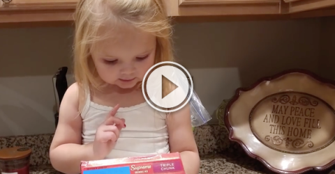 This cute kid's gonna tell you how to make brownies! (Video)