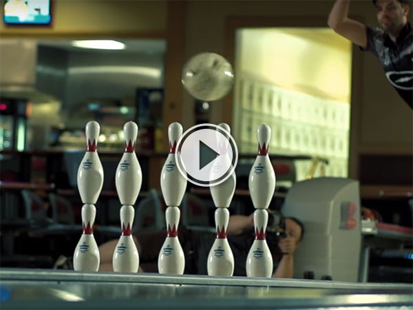 Pool and Bowling trick shot compilation (Video)
