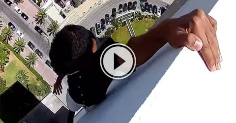 Crazy Moroccan free runners in Tangier (Video)