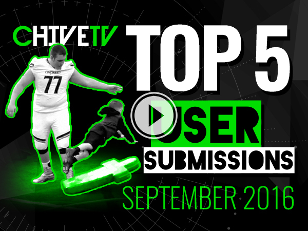 Top 5 user-submitted videos of September