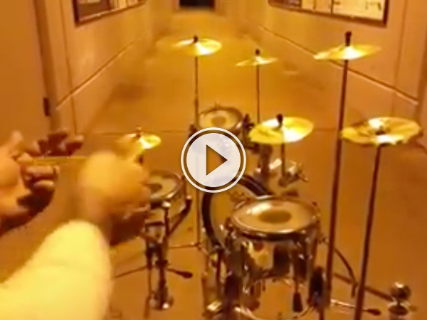 Is this a drum set for ants?!