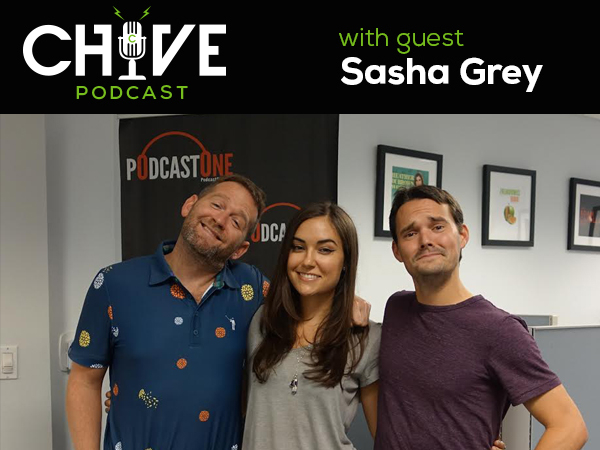 lead10 Sasha Grey, from adult entertainment darling to mainstream actress, author, and beyond, on theCHIVE Podcast