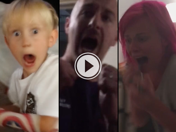 People scaring their friends and family compilation (Video)