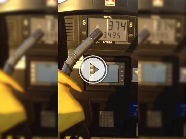 Sure, this gas pumps display seems legit (Video)