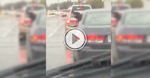 When weather and rain keep you down, just check out this guy! (Video)