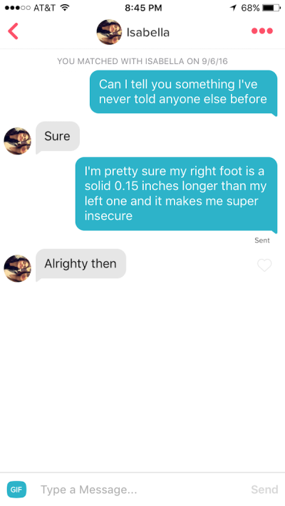Guy Shares His Collection Of Successful Tinder Pick Up Lines Thechive