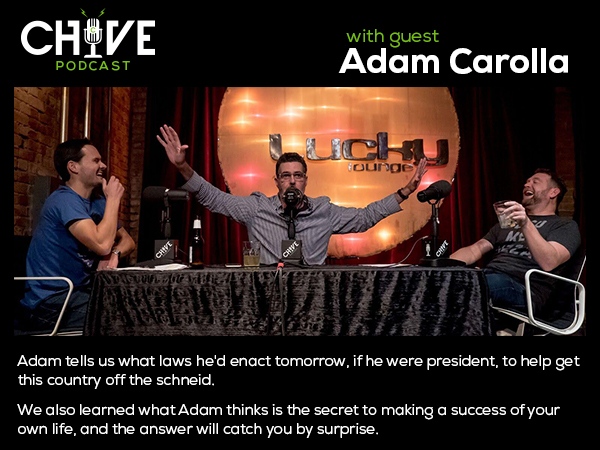 live onstage with adam carolla the mad genius 2 Live onstage with Adam Carolla, a man fit to be president