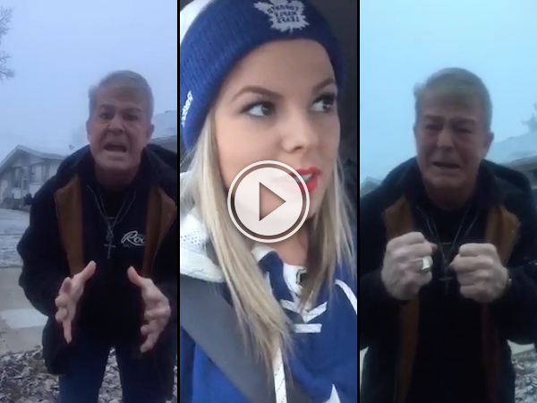 Dad surprised with hockey tickets is giving me some feels (Video)