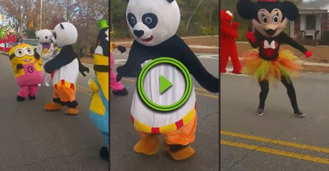 This off brand parade looks awesome (Video)