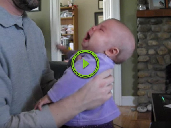 Baby stops crying when Notorious B.I.G. is playing