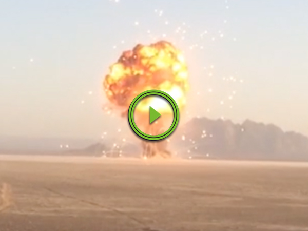 Brit Soldiers and US Marines detonate 100,000lbs of British Ordinance