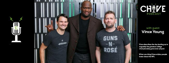 we hooked vince young in for a fun candid conversation 2 We hooked Vince Young in for a fun & candid conversation!