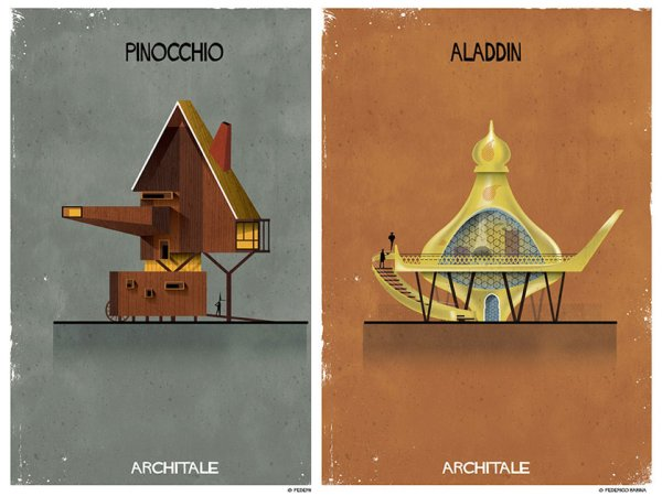 Architale's combines fairy tales with architecture (16 Photos)