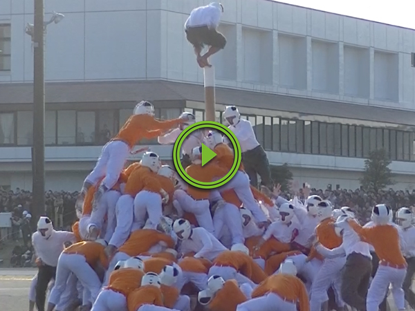 You won't believe how awesome Japan's sport called Bo-Taoshi is