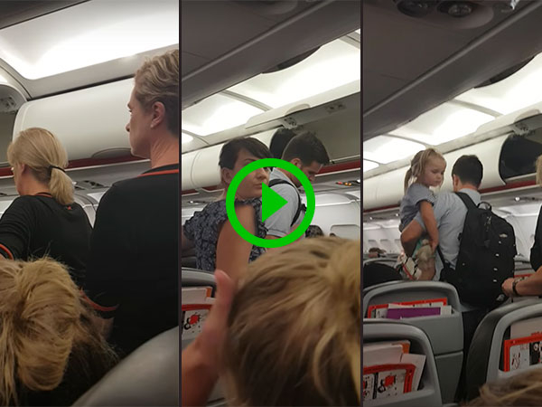 Airline removes family wanting to sit together (Video)