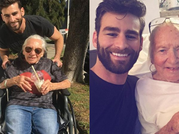 Actor asks ill 89-year-old to move in with him (8 Photos)