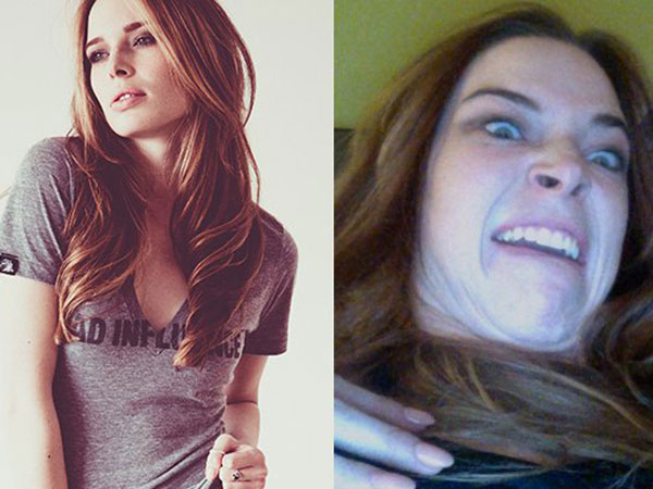 Cute girls pulling ugly faces because Internet! (24 Photos)