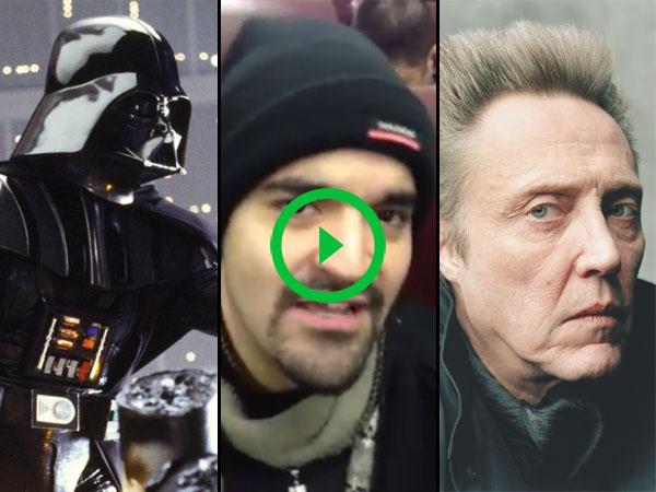 Guy totally nails Christopher Walken playing Darth Vader (Video)