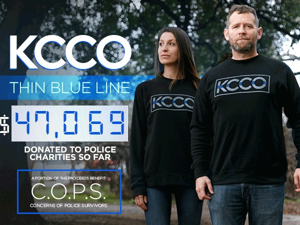 kcco thin blue line sweatshirts available to support our officers 211 KCCO Thin Blue Line sweatshirts available to support our officers!