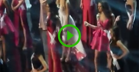Miss Netherlands dances to 'Single Ladies' during commercial break (Video)