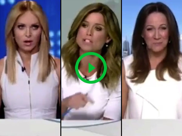 Reporter has meltdown over co-workers wearing same color (Video)