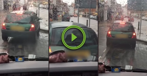 This might be the worst parking effort ever (Video)