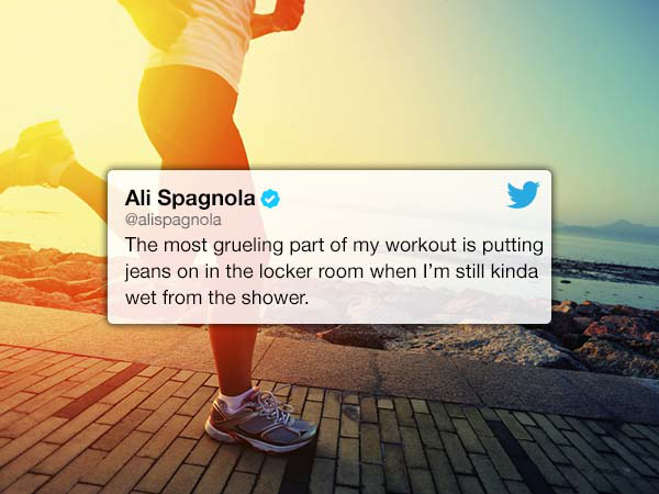 23 hilarious Tweets about the struggles of working out