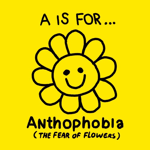alphabet of phobias fears parker giphy 1432 Fight your fears with the darkly humorous Alphabet of Phobias (26 GIFs)