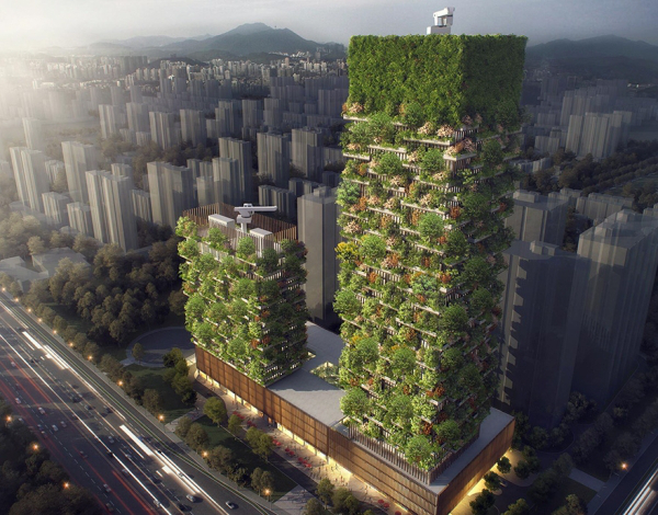 cool vertical forests in china will help minimize their pollution problem 22 China is building giant vertical forests to help with pollution (6 photos)
