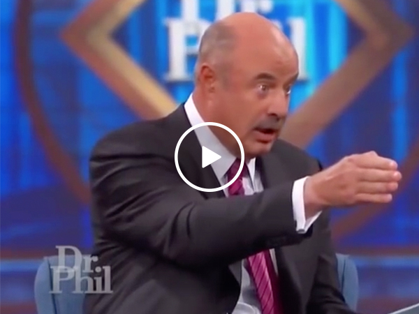 Dr. Phil with zero dialogue is uncomfortably hilarious (Video)