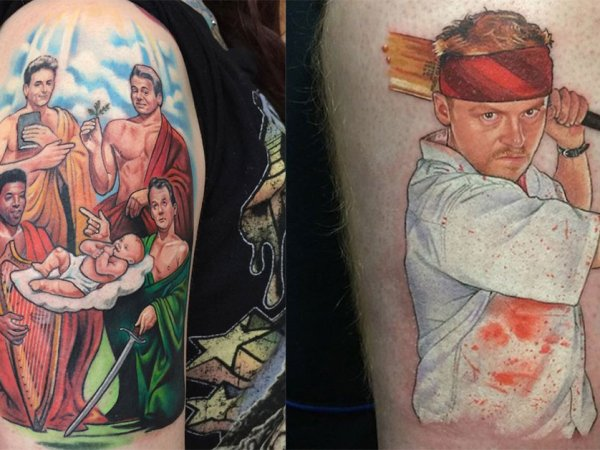 British tattoo artist's pop culture themed creations (26 Photos)