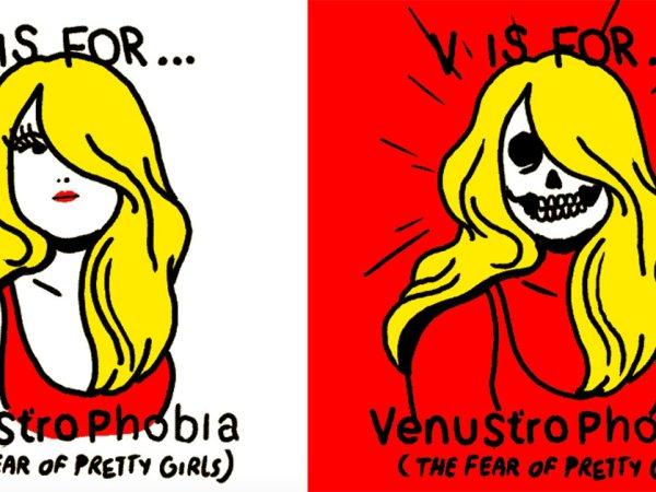 An amusing look at the Alphabet of Phobias (26 GIFs)