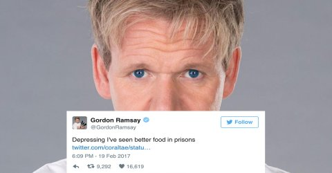 Gordon Ramsay is reviewing people's cooking on Twitter (20 Photos)