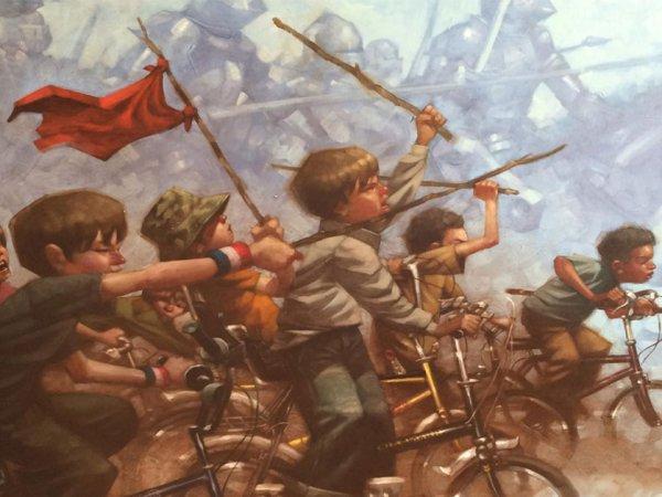 Craig Davison art invokes our childhood heroes (24 Photos)