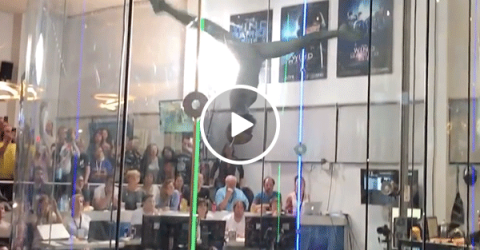 A freestyle routine from Wind Games