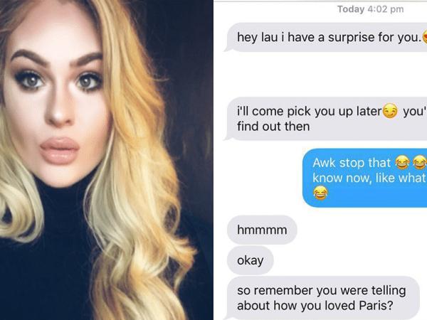 Hilarious boyfriend pranks girlfriend on Valentines Day (11 Photos)