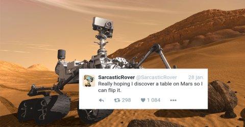 Sarcastic Rover is Mars' sassiest robot (23 Photos)