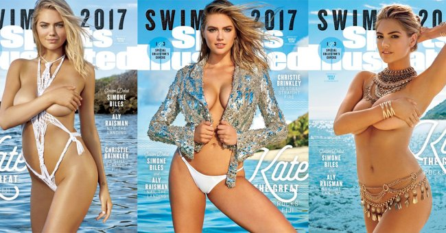 mother of god kate upton graces the cover of sports illustrated 23 Mother of God, Kate Upton graces the COVERS of Sports Illustrated (12 GIFs)