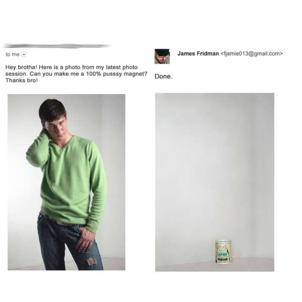 photoshop troll james fridman1 Photoshop Troll is back and better than ever (27 Photos)
