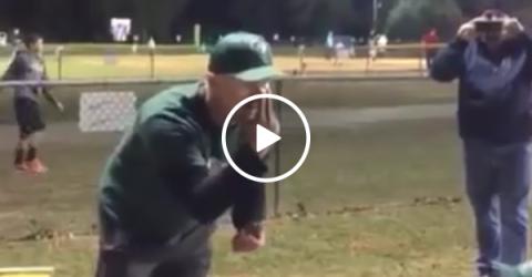 Coach gives little league team a pregame speech about winning (video)