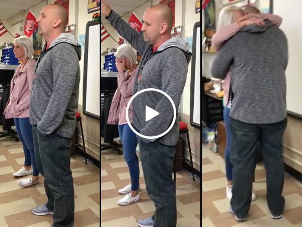 Teachers reveals he's more than just dating his fellow teacher (Video)