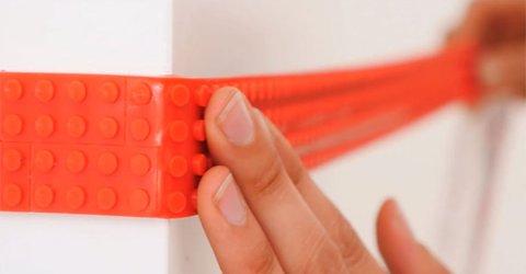 LEGO tape allows you to turn anything into LEGO (9 Photos)