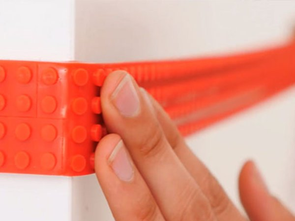 LEGO tape allows you to turn anything into LEGO (9 Photos)