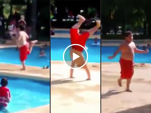 Little kid gives zero hecks, dances his heart out (Video)