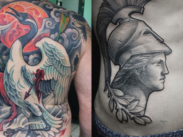 A selection of really awesome tattoo work (27 Photos)