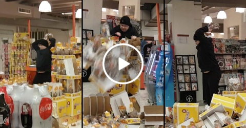 Man gets caught eating stolen candy, goes on Easter egg rampage