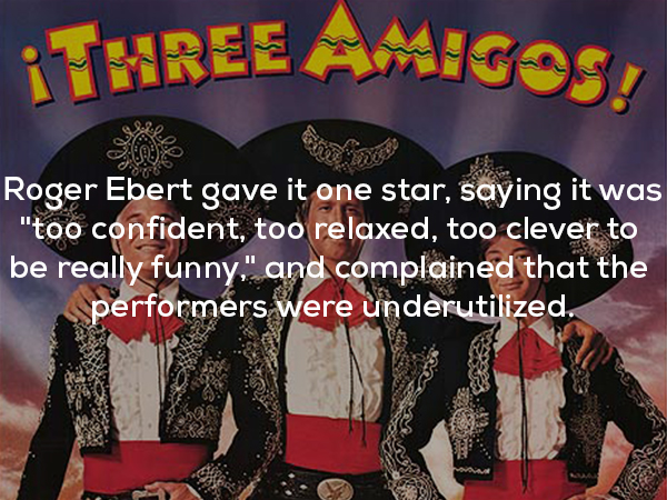 three amigos draft 17 photos 212 In famous facts about a little film called Three Amigos (17 Photos)