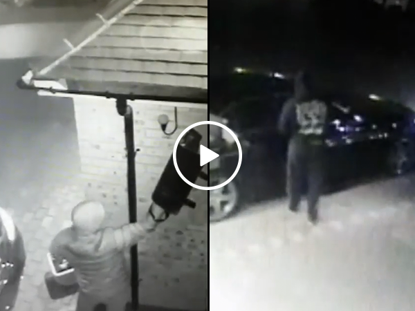 Thieves use laptop to steal Mercedes (Video)