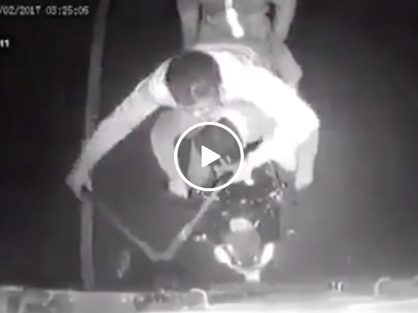 Criminals have hilarious high speed robber fail (Video)